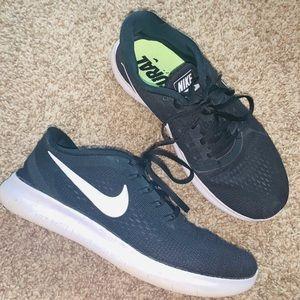 Black Nike running shoes!